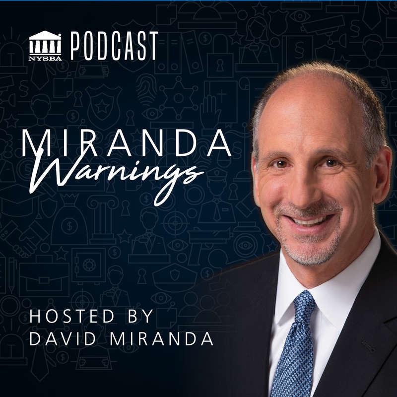 David Miranda host of Miranda Warnings
