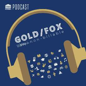 Gold/Fox Non-Billable Podcast logo