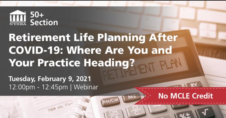Retirement Life Planning