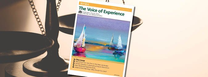 slider image of The Voice of Experience newsletter