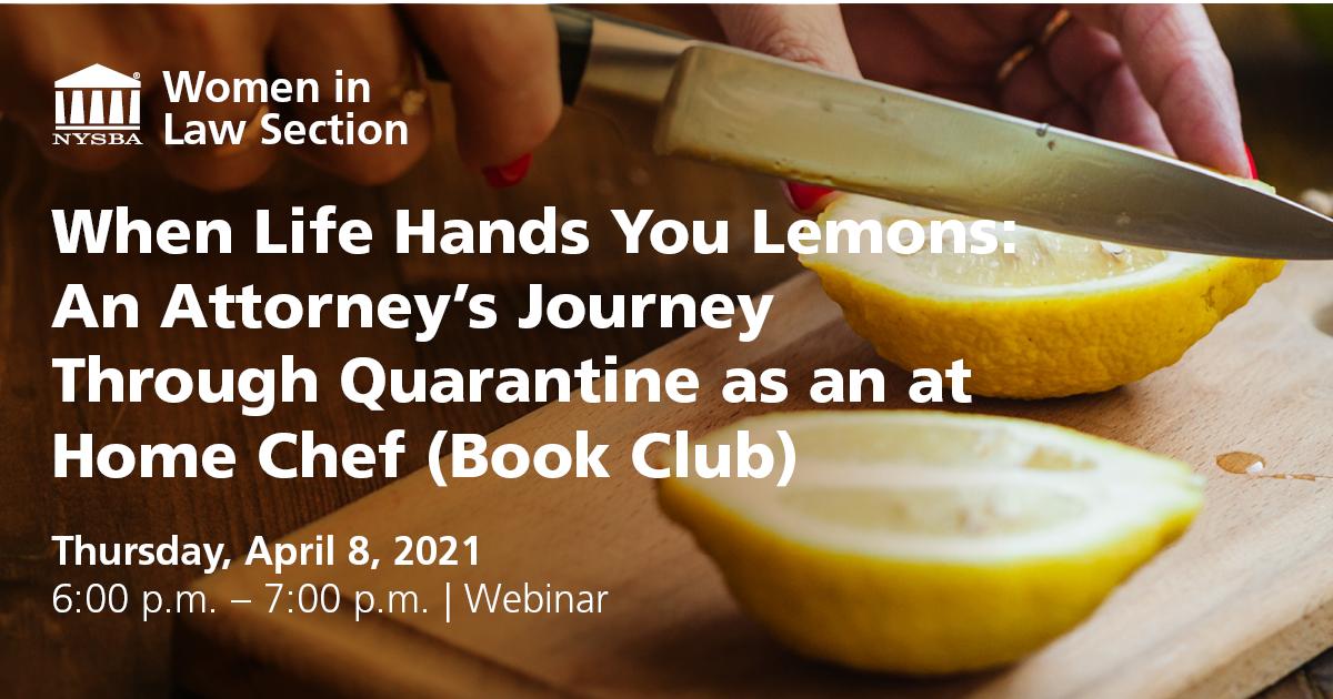 Women in Law- When Life Hands You Lemons