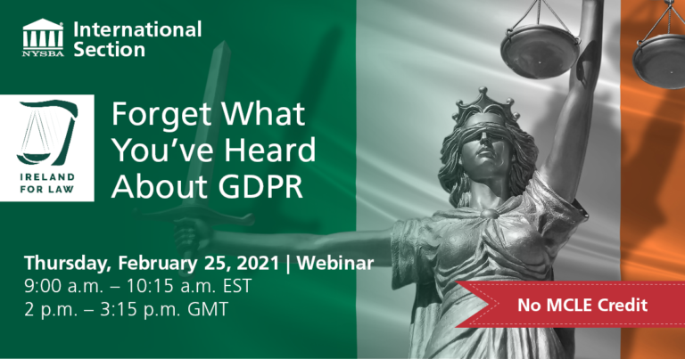 Forget What You've Heard About GDPR