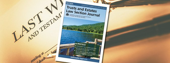Trusts and Estates Law Journal image