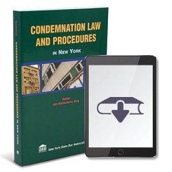 CondemnationLawAndProceduresInNewYorkEbook250X2504