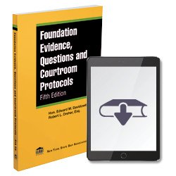 FoundationEvidenceQuestionsAndCourtroomProtocols5thEdEbook250X25016