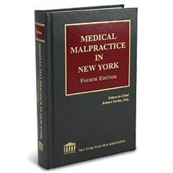 MedicalMalpracticeInNY4thEd_250X250