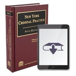 NYCriminalPractice5thEdEbook250X25028