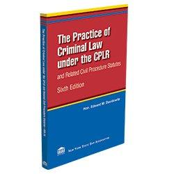 PracticeofCriminalLawUnderCPLR_250X250