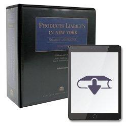 ProductsLiabilityInNY2ndEdEbook250X25034
