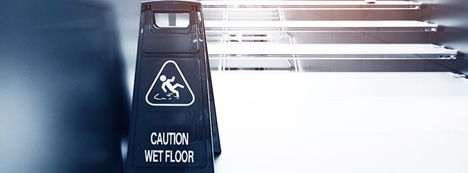wet floor caution