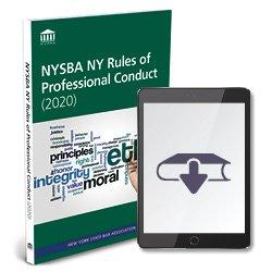 NYSBANYRulesofProfessionalConduct2020Ebook250X250