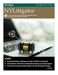 Cover-NYLitigator-Fall 2020