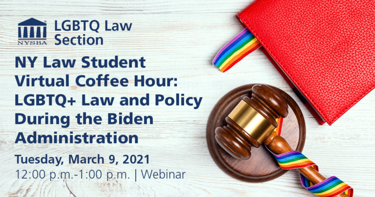 March 9- LGBTQ Law and Policy