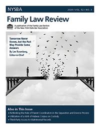 FamilyLawReview-2020 Vol. 52 No. 3_COVER