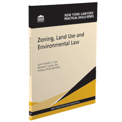 Zoning, Land Use And Environmental Law, 2020-21