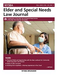 Elder Law Journal