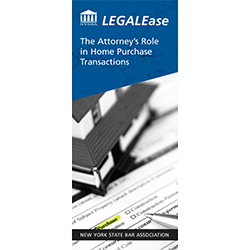 The Attorney's Role in Home Purchase Transactions