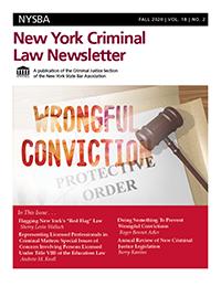 NY Criminal Law