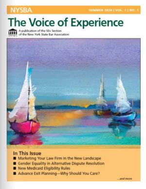 Voice of Experience