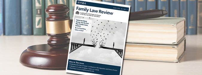 NYSBA Family Law Review