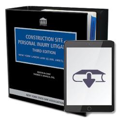 ConstructionSitePersonalInjuryLitigation3rdEdEbook250X250