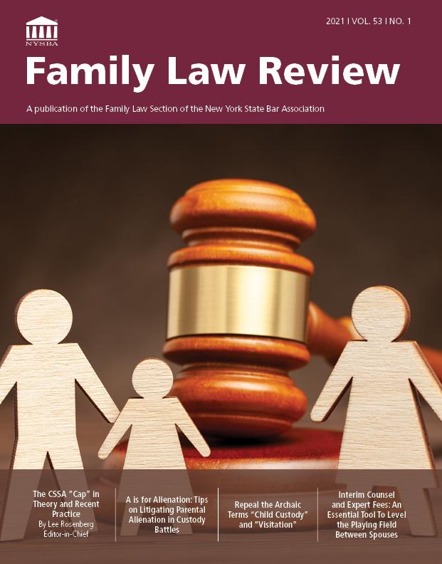 FamilyLawReview-2021 Vol. 53 No. 1- Cover image