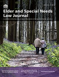 Elder Law Journal 2021 Vol 31 No 2 PNG_200W