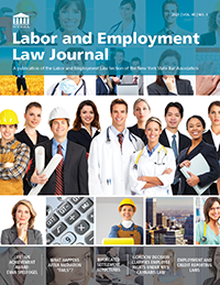 Labor and Employment Law Journal Vol 45 No 1