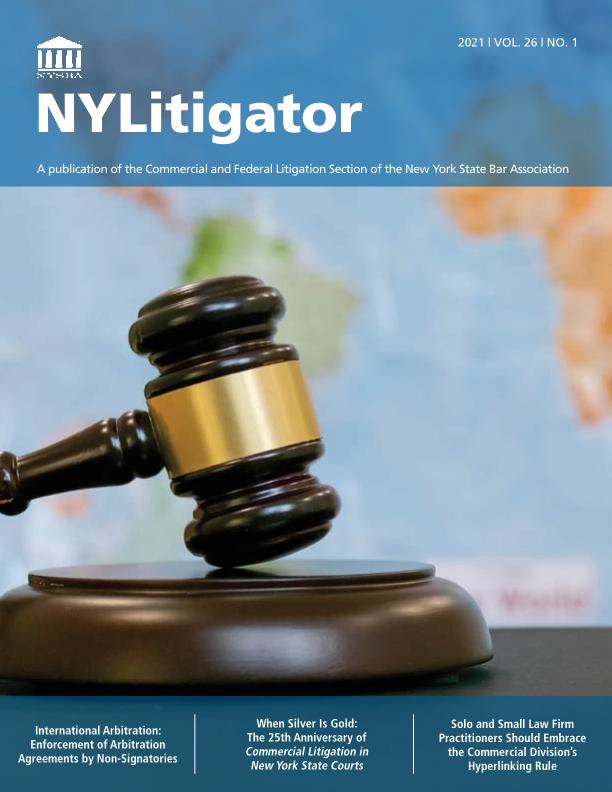 SECPUBS_NYLitigator 2021 v.26 n.1_8.5X11_WEB