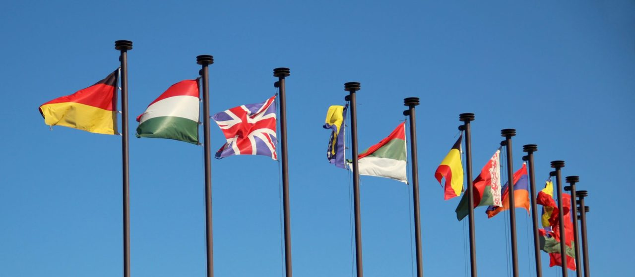 International,Flags,In,The,Wind