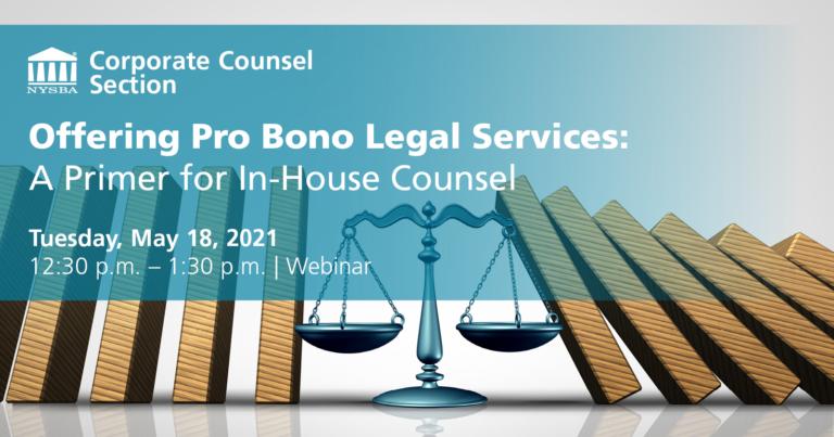 Pro Bono Legal Services
