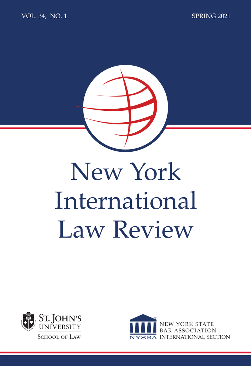 preview-full-New York International Law Review Spring 2021 [Vol. 34, No. 1].pdf